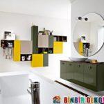 Renkli Banyo Dolapları ile Ultra Modern Banyolar