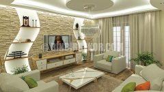 Geniş Salonlar İçin Dekorasyon Fikirleri