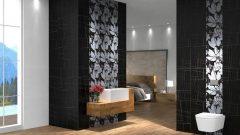 Banyo Dekorasyonunda Dikey Bordür Uygulamaları