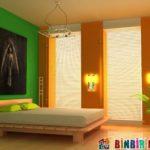 En İyi Yatak Odası Duvar Rengi Kombinasyonları