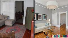 Şahane Oturma Odası Önce-Sonra Dekorasyonları