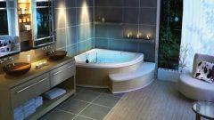 Banyolar İçin Çok Güzel Köşe Jakuzi Tasarımları