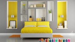 Yatak Odası Duvar Dekorasyonunda Niş Uygulamaları