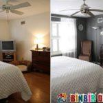 Yatak Odası Dekorasyonu Önce-Sonra Örnekleri
