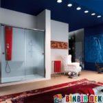 Banyolarda Değişik Cam Duşakabin Uygulamaları