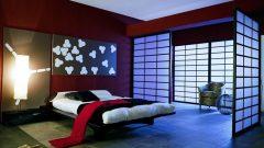 Uzak Doğu Tarzı Modern Yatak Odası Dekorasyonları