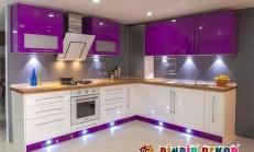 İki Renkli Süper Mutfak Dolabı Tasarımları