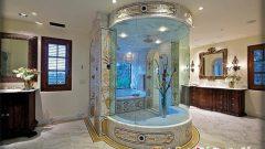 Cesaret İsteyen Çok Değişik Banyo Dekorasyonları