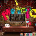 Ev Dekorasyonuna Sokak Sanatı Dokunuşları