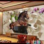 Yepyeni ve Çok Yaratıcı TV Arkası Dekorasyon Fikirleri