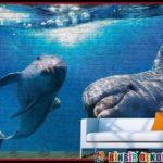 Resim Baskılı Tuğla ve Taş Duvar Panelleri ile Dekorasyon
