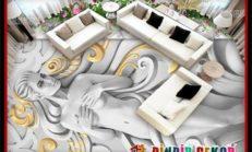 3D Zemin Duvar Kağıtları ile İnanılmaz Zemin Dekorasyonları
