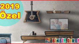 Özel Tasarım TV-Duvar Ünitesi Modelleri