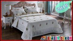 Birbirinden Güzel Çeyizlik Yatak Örtüsü Modelleri
